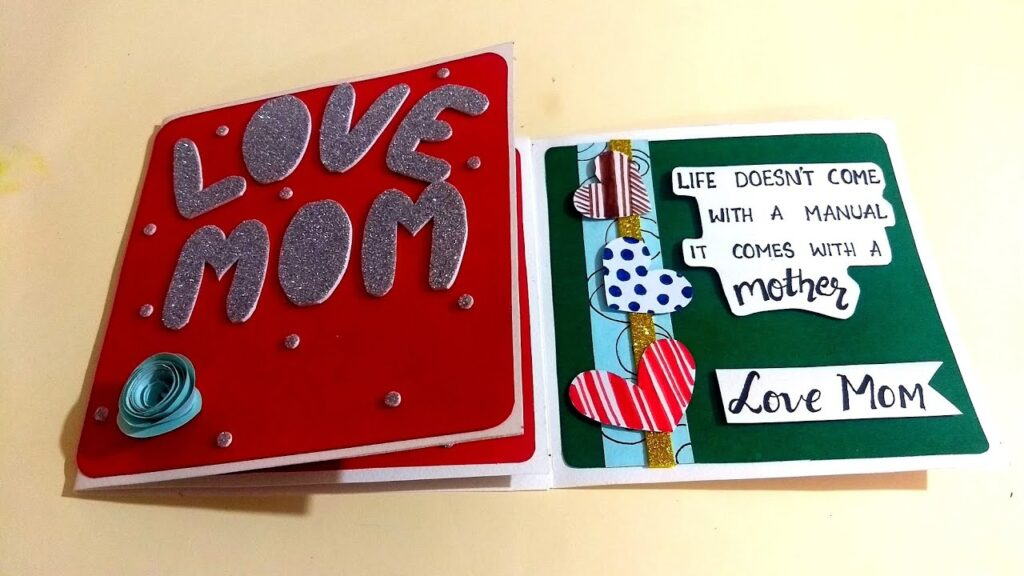 Special Handmade Card For MOM | Handmade Gift for Mother | Easy to make at Home